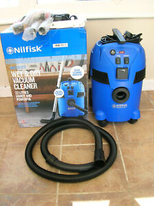 Nilfisk Multi 11 22T Wet/Dry Vacuum Cleaner with Dust Extraction Facility.