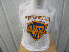 VINTAGE DORSETT IF YOU SEE DA' POLICE WARN A BROTHER WARNER BROTHER RIP XL SHIRT
