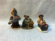 Boyds Bearly Bulit Villages Accessories Ted E Bear Shop Winter Folk 19501-2