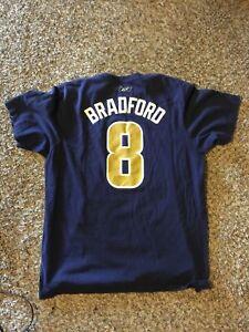 Sam Bradford St Louis Rams Navy T-Shirt XL