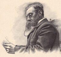 Portrait Émile Verhaeren Saint-Amand Belgique Poésie Poète