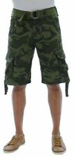 New Men's Jordan Craig Premium Olive Green Camo Cargo Shorts Size 30 Brand New!