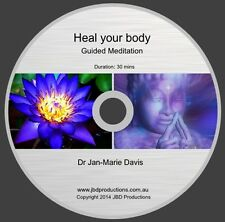Guided Meditation CD to Heal Your Body by Jan-Marie Soothing Music & Voice