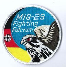 GERMANY LUFTWAFFE BUNDESWEHR MIG-29 FIGHTING FULCRUM PATCH