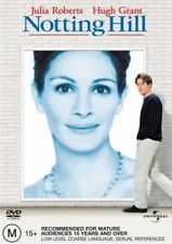 Notting Hill DVD BEST PICTURE ACTRESS Julia Roberts Hugh Grant BRAND NEW R4