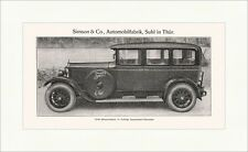 Simson Supra 4 bis 5 sitzige Innenlenker Limousine Suhl in Thüringen Wolfram 025