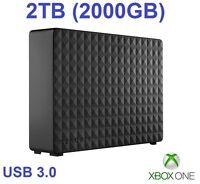 External Hard Drive for Xbox One/S -2000GB / 2TB -Xbox One Extra Memory/Storage