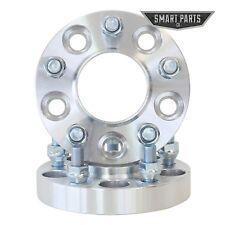 """(2) 2"""" (1"""" per side) 5x4.5 HUBCENTRIC Wheel Spacers Wrangler TJ Cherokee Liberty"""