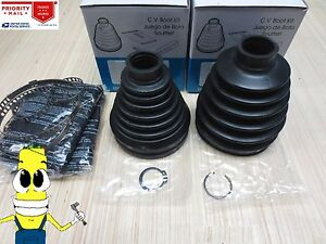 Front Inner & Outer CV Axle Boot Kit For Scion xD 2008-2014 EMPI Boots