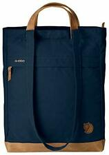 Fjallraven Totepack No.2 Unisex Large Navy Waxed Fabric Tote Bag 24229560