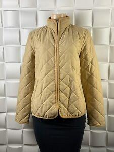 Lauren Ralph Lauren Women's Beige Puffer Jacket Size PL RV100540