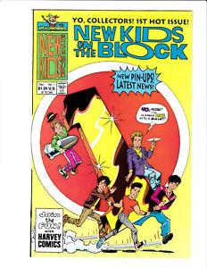 New Kids On the Block #1 Harvey Comics 1990 NM- 9.2