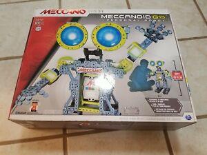 NEW UNOPENED  - MECCANOID G15 PERSONAL ROBOT Meccano Tech  Building Set