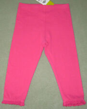 New PLEASE MUM Size 6-12 Months Candy Pink Leggings