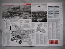 Cutaway Key Drawing of the De Havilland DH.98 Mosquito