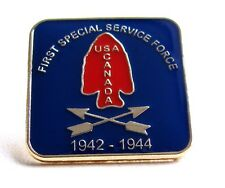 Canadian & American Canada / USA  Airborne  FSSF 1st  Special Service Force Pin