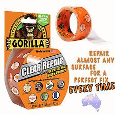 Gorilla Tape Gorilla Clear Repair Tape 8.2m Fix Patch Seal Hold Protect