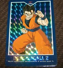 "Dragonball z: Prism Card  ""Hero Collection series 4"" - 1995 card # 407 Gohan- 1"