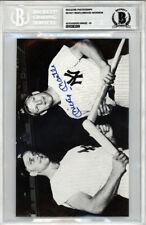 Mickey Mantle Skowron Autographed Magazine Page Photo Gem 10 Beckett 10383269