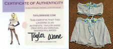 (RARE) TAYLOR WANE Adult Film Porn Star 2pc Wardrobe Top/Skirt w/Signed Pic COA