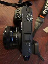 Sony Alpha A6300 24.2MP Mirrorless Digital Camera, Black (w 16-50mm lens)