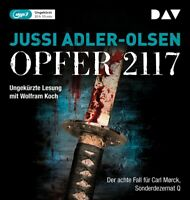 SONDERDEZ OPFER 2117.DER ACHTE FALL FÜR CARL MORCK - ADLER- 2 MP3 CD NEW