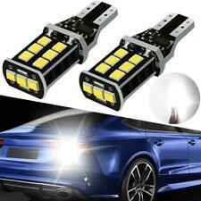 2 xSuper Bright White Canbus LED Bulb Car Backup Reverse Light 912 921 T15 W16W