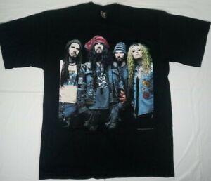 White Zombie T-Shirt 1996 Size XL heavy metal vintage