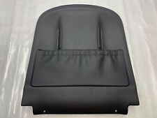 2007 - 2013 MERCEDES BENZ S W221 SEAT BACK PANEL COVER BLACK LEATHER LH/RH OEM
