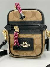 ORIGINAL COACH Phone Sling Bag Signature C Vale Phoebe F80384