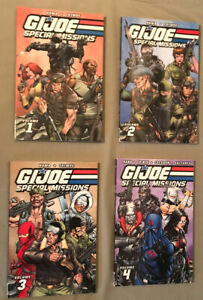 G.I. Joe Special Missions Classic vol. 1,2,3,4 - See Photos - All 1st