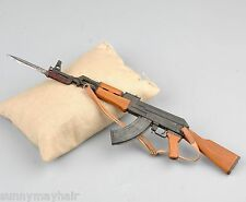 "1/6 AK47 Assault Rifle Gun Weapon Simulation Model Toy Army Weapon F 12"" Figures"