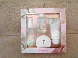 Ted Baker London Bathing Blooms Miniatures Collection Gift Set Brand New