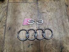 Audi S3 8L Heckemblem Emblem Schriftzug Heckklappe Facelift #41