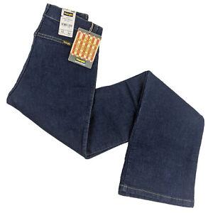 Wrangler Vintage Womens Rinse Indigo Jeans (UK Size 10, 28W / 34L)