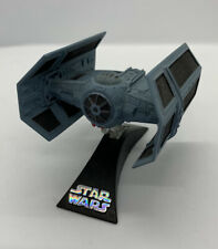 STAR WARS TITANIUM Darth Vader ADVANCED TIE FIGHTER die-cast loose HASBRO