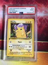 PSA 9 MINT First Ed 1st German Pikachu
