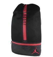 9bd828021164 Jordan All Net Padded Adjustable Backpack Black Red Laptop Tablet  65  9A1782-KR5