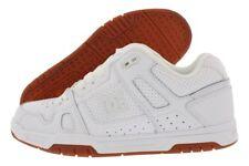 DC STAG 320188 White/Gum(WG5) Mens Skateboard Shoes