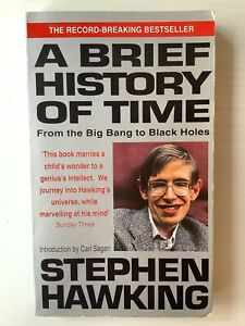 Stephen Hawking: A Brief History of Time: From Big Bang to Black Holes FREE POST