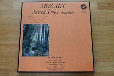 Mozart seven trio Mannheim trio 3lp BOX vox svbx 568