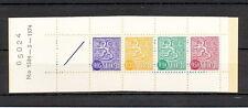 127 FINLAND 1974 SUPERB BOOKLET HA10 Nr1584 LION type m/63 Kn C H NUMBER 65024