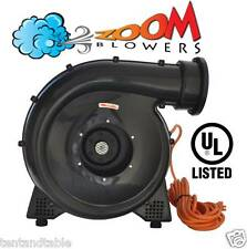 1.0 HP Zoom FEC, Inflatable Bounce House Blower, Air Mover Fan