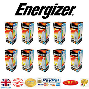 10 x G9 33w=40w Energizer Dimmable Energy Saving Halogen bulbs Capsule Light UK