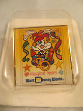 Disney Pin -  20 Magical Years - Roger Rabbit - Wald Disney World - NEW in Pkg