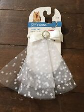 NWT Petco Dog Bride Veil - XS/Small