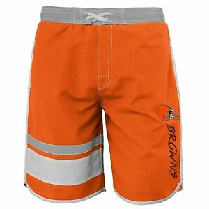 Outerstuff NFL Football Youth Cleveland Browns Swim Trunks