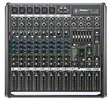 MACKIE PROFX 12V2 MISCHPULT 12-KANAL EFFEKT GRAPHIC EQ DJ KONSOLE PA AUDIO MIXER