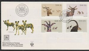 SWA SOUTH WEST AFRICA 1980 Nature Conservation/Tourism/Deer SG 345/8 FDC ANIMALS