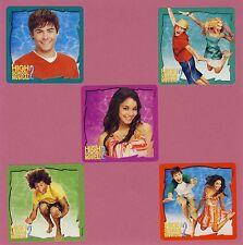 10 High School Musical 2 - Large Stickers - Favors - Zac Efron, Vanessa Hudgens